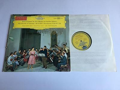 Nm-/ex Bach Respighi Mozart Red Sticker Tulips Seefried Schnederhan Strings