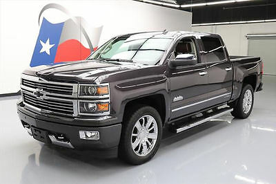 2014 Chevrolet Silverado 1500 High Country Crew Cab Pickup 4-Door 2014 CHEVY SILVERADO HIGH COUNTRY CREW  NAV 20'S 18K MI #377821 Texas Direct