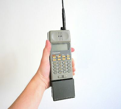 Panasonic Pocketpac Ericsson Hotline Nmt Vintage Brick Cell Mobile Phone