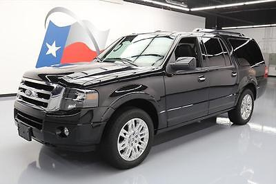"""2014 Ford Expedition Limited Sport Utility 4-Door 2014 FORD EXPEDITION EL LTD 4X4 LEATHER 20"""" WHEELS 55K #F12187 Texas Direct Auto"""