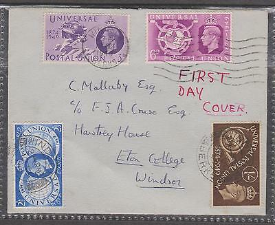 1949 1st DAY COVER ADDRESSED ETON COLLEGE Cat VAL £80.00