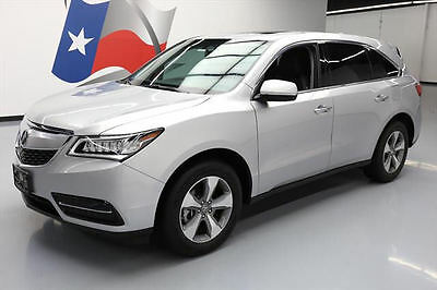 2015 Acura MDX Base Sport Utility 4-Door 2015 ACURA MDX 7-PASS SUNROOF HTD LEATHER REAR CAM 33K #003237 Texas Direct Auto