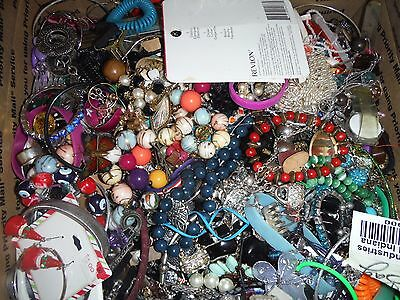 Craft Jewelry Lot 20 Lbs Lot 2 Grab bag Vintage & Cont. Various Craft Jewelry