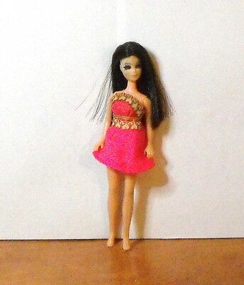 Topper Angie Doll Wearing Pink Mini Head Mold P10 Lot A-16