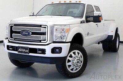2016 Ford F-350  16 Ford F350 Platinum 6 Inch Lift 22 Inch American Force Wheels Navigation