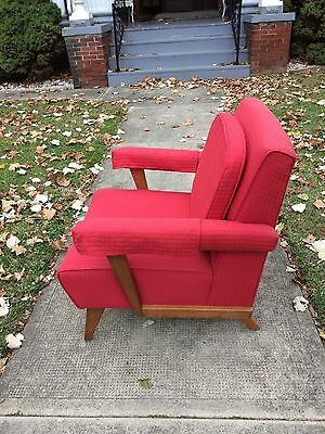 Antique Vintage Mid Century Modern Retro Lounge Club Living Room Chair