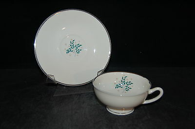 4 - Syracuse Lyric Cup and Saucer - Set of 4