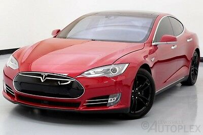 2015 Tesla Model S  15 Tesla Model S 90D Autopilot Sunroof Navigation Air Suspension