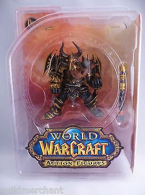 World of WARCRAFT Dwarf Warrior THARGAS ANVILMAR DC Direct Unlimited Series 1