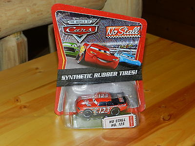 Disney Pixar World Of Cars No Stall No 123 With Synthenic Rubber Tires Diecast