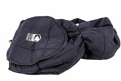 """Toca Percussion Djembe Bag w/ Shoulder harness 14"""" opening Black"""