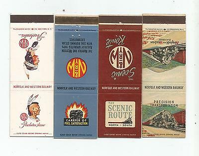 4 Old Norfolk and Western Railway   Matchcovers