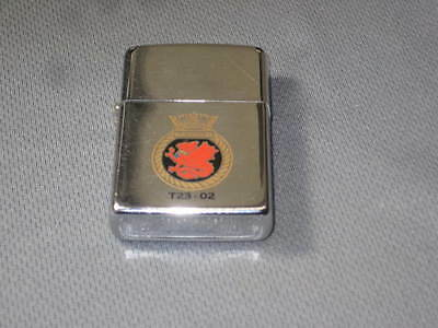 HMS MARLBOROUGH F-233 1990 ROYAL NAVY RN BRITISH SHIP ZIPPO H.M.S. USS type 23