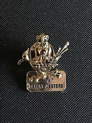 JLP-3 Medium Royal Order of Jesters Lapel Pin New 3-D with Stones