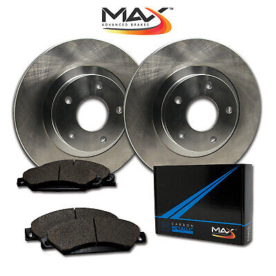 13 Lincoln MKT w/13'' Rear Rotor Dia OE Replacement Rotors w/Metallic Pads R