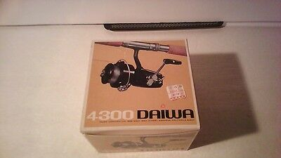 Vintage Daiwa 4300 fishing reel in box