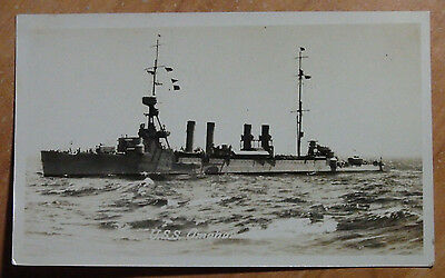 1923 Real Original Photo Navy Of The U S S Omaha