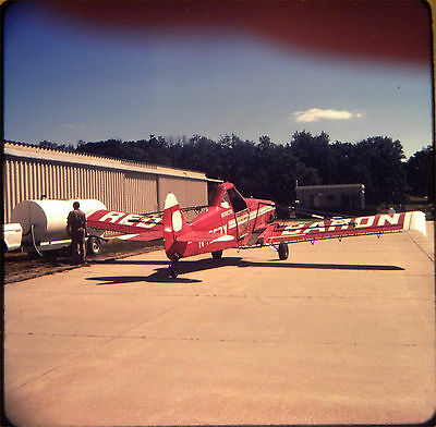 3931. Orig Oct 79 Color Slide Crop Duster IMCO CALLAIR A-9 'Red Baron'