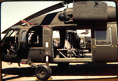0981. Orig May 81 Kodachrome Slide US Army Sikorsky UH-60A Black Hawk Helicopter