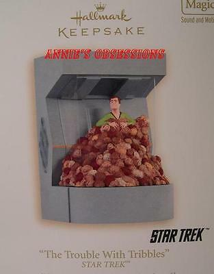 Hallmark 2008 * Star Trek * The Trouble With Tribbles * Magic * Ornament