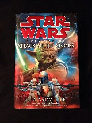 Star Wars Ser. Episode 2: Attack of the Clones by R. A. Salvatore (2002, Hardcov