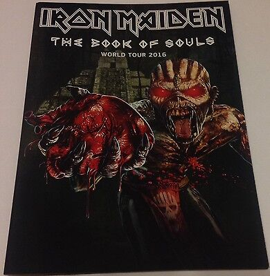 Iron Maiden Book Of Souls Tour Program Book 2016 New Official Brand New  Irons