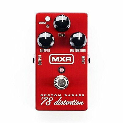 Dunlop MXR Custom Badass Distortion 78 Pedal