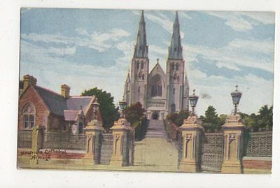 St Patricks Cathedral Armagh 1905 Postcard 596a