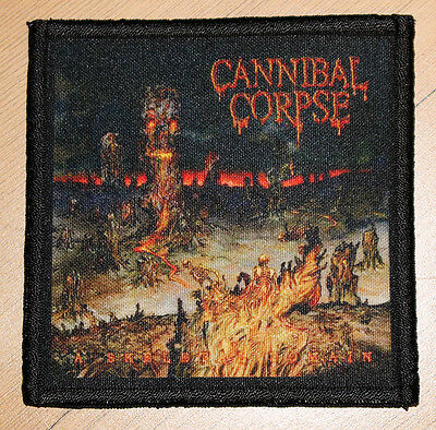 "CANNIBAL CORPSE ""A SKELETAL DOMAIN"" silk screen PATCH"