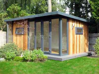 Garden Office. Fully insulated and installed from  £7999