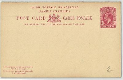 Gambie - entier postal d'One Penny - F547423