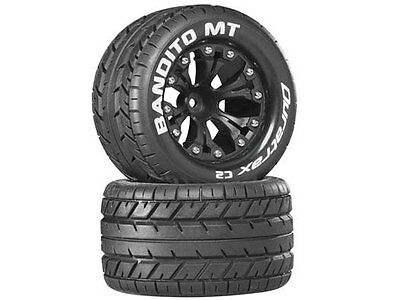 Duratrax Bandito MT 2.8in Wheel and Tyres (2) #DTXC3504