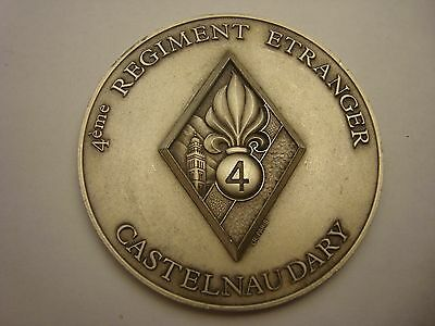 French Foreign Legion 4th Regiment Castelnaudary medal
