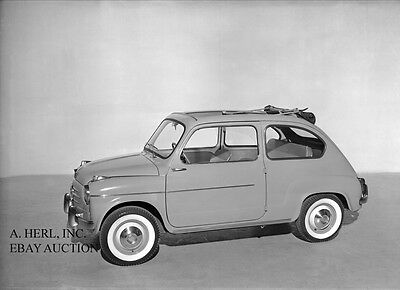 Fiat 600 introduction new Model Year photo 3 press photo photograph 1955 photo