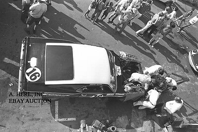 Ford Shelby GT 350 Mustang 1969 Bud Moore St. Jovite Trans Am racing photo 1969