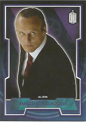 "Topps Doctor Who 2015 - No. 80 ""Brother Lassar"" Purple Parallel Card #24/99"