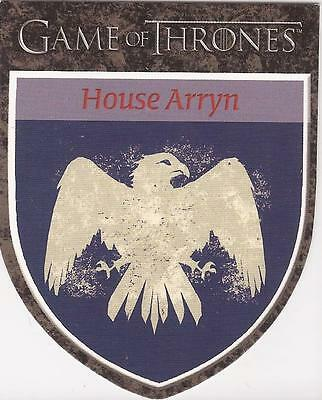 """Game of Thrones Season 1 - H6 """"Arryn"""" Houses Chase Card"""