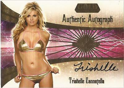 "Benchwarmer 2007 Gold Edition -  #21 of 30 ""Trishelle Cannatella"" Autograph Card"