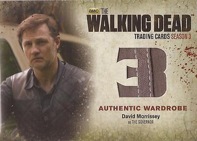 "Walking Dead Season 3 Part 2 - M37 SEAM VARIANT ""The Governor's"" Wardrobe Card"