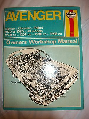 Haynes Manual - Avenger 1970 - 1980