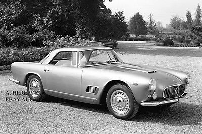 1958 Maserati Touring 3500 GT Tipo 101 Coupe automobile photo photograph