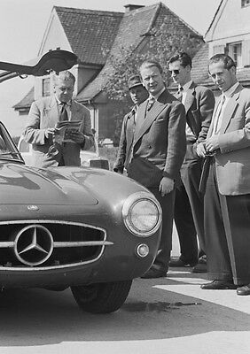 Mercedes-Benz 300 SL W194 1952 Gullwing photo photograph introduction photo