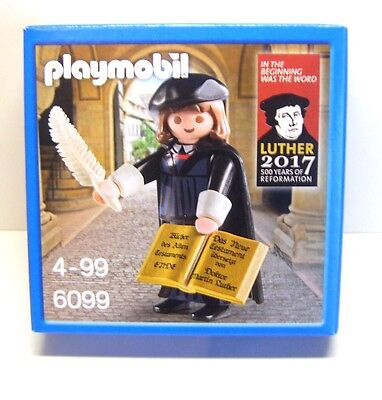Playmobil Martin Luther, 6099, in Box
