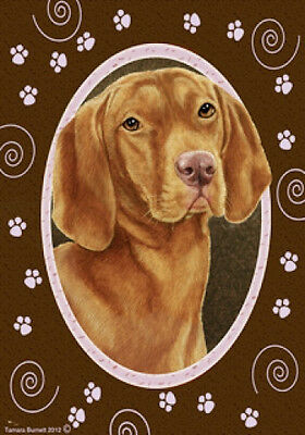 Large Indoor/Outdoor Paws Flag - Vizsla 17052
