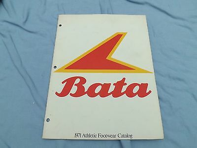 Rare 1971 BATA Foorwear Catalog Bullets Sneakers, Gym Shoes, Etc FREE SHIPPING