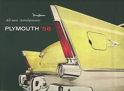 RARE catalogue voiture americaine PLYMOUTH 1956 tb ETAT