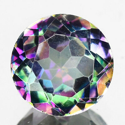 1.05 Cts Sparkling Rare Top Quality Multi Color Natural Mystic Topaz