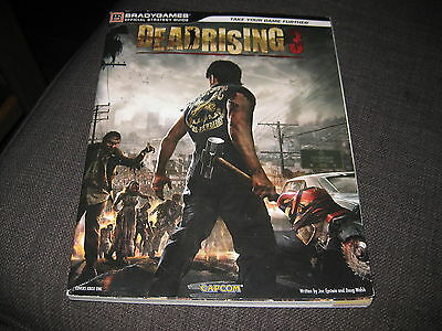 DEAD RISING 3 - Bradygames Game / Strategy Guide - PB Book - VGC
