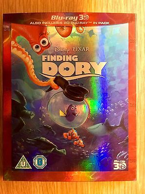 Blu-ray DVD Slipcase Only  -  NO DISCS Included  -  Finding Dory 3D  -  NO DISCS