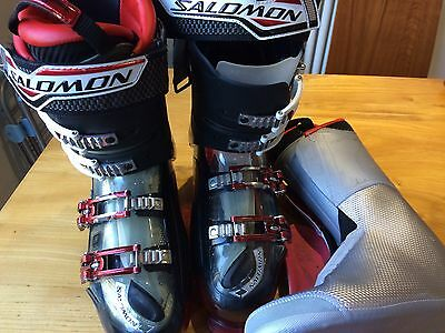 Salomon X Energyzer 120 Ski Boots size 27 - 27.5  317mm UK 8 Womens